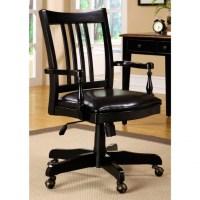 Antique Wooden Swivel Desk Chair | Antique Furniture