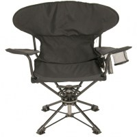 Folding Swivel Hunting Chair With Backrest Ashery Design ...