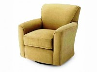 Oversized Pier One Swivel Chair For Living Room Home ...