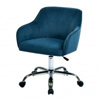 Bedroom Aqua Office Chair Blue Desk Chair For Home Office ...