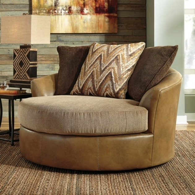 Oversized Swivel Accent Chair 2019  Chair Design