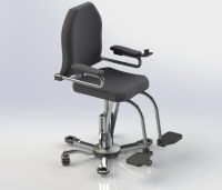 Motorized Office Chair Drive Medical Cobalt Travel Power ...