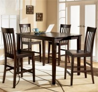 Ashley Furniture Kitchen Table And Chairs Hyland 5 Piece ...