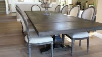 Gray Kitchen Table And Chairs Farmhouse Industrial Modern ...