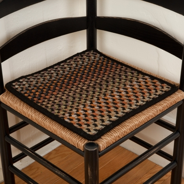 black chair pads contemporary leather braided for kitchen chairs | design