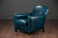 Navy Blue Leather Club Chair Pictures 78 | Chair Design