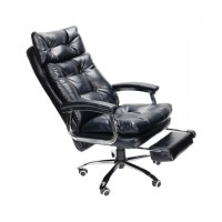 Reclining Office Chair with Footrest | Chair Design