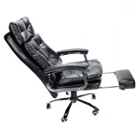 Reclining Office Chair With Footrest And High Backrest ...