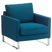 Navy Club Chair | Chair Design