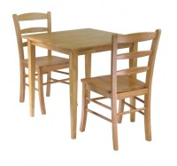 Comfortable Wood Unfinished Kitchen Chairs High Back ...