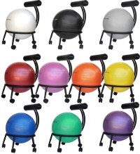 Balance Ball Office Chair Exercise Ball Chairs Physical ...