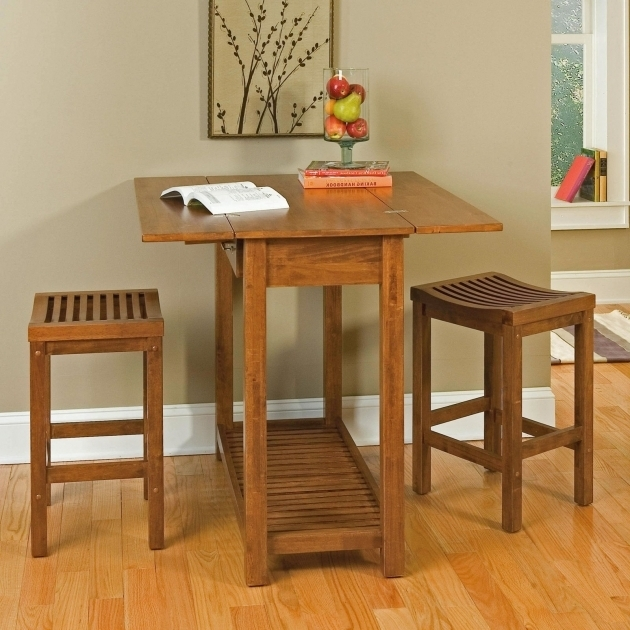 Compact 80cm Small Kitchen Table With 2 Chairs Buttermilk