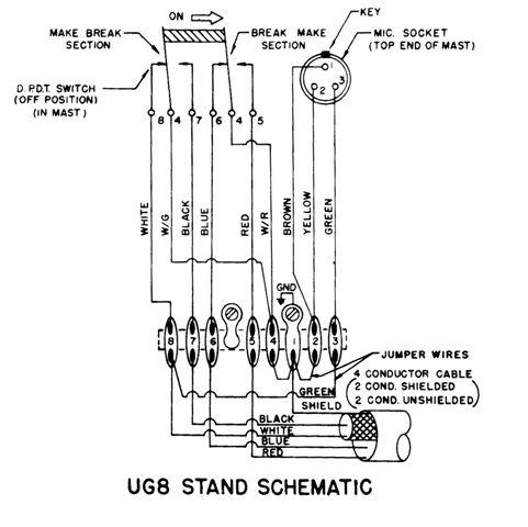 xlr microphone wiring diagram wirdig readingrat net 4 Pair Microphone Wiring Diagram uniden microphone wiring diagram