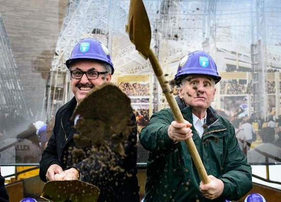 Zygi Wilf and the Governor