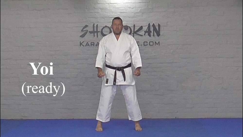 shotokan yoi