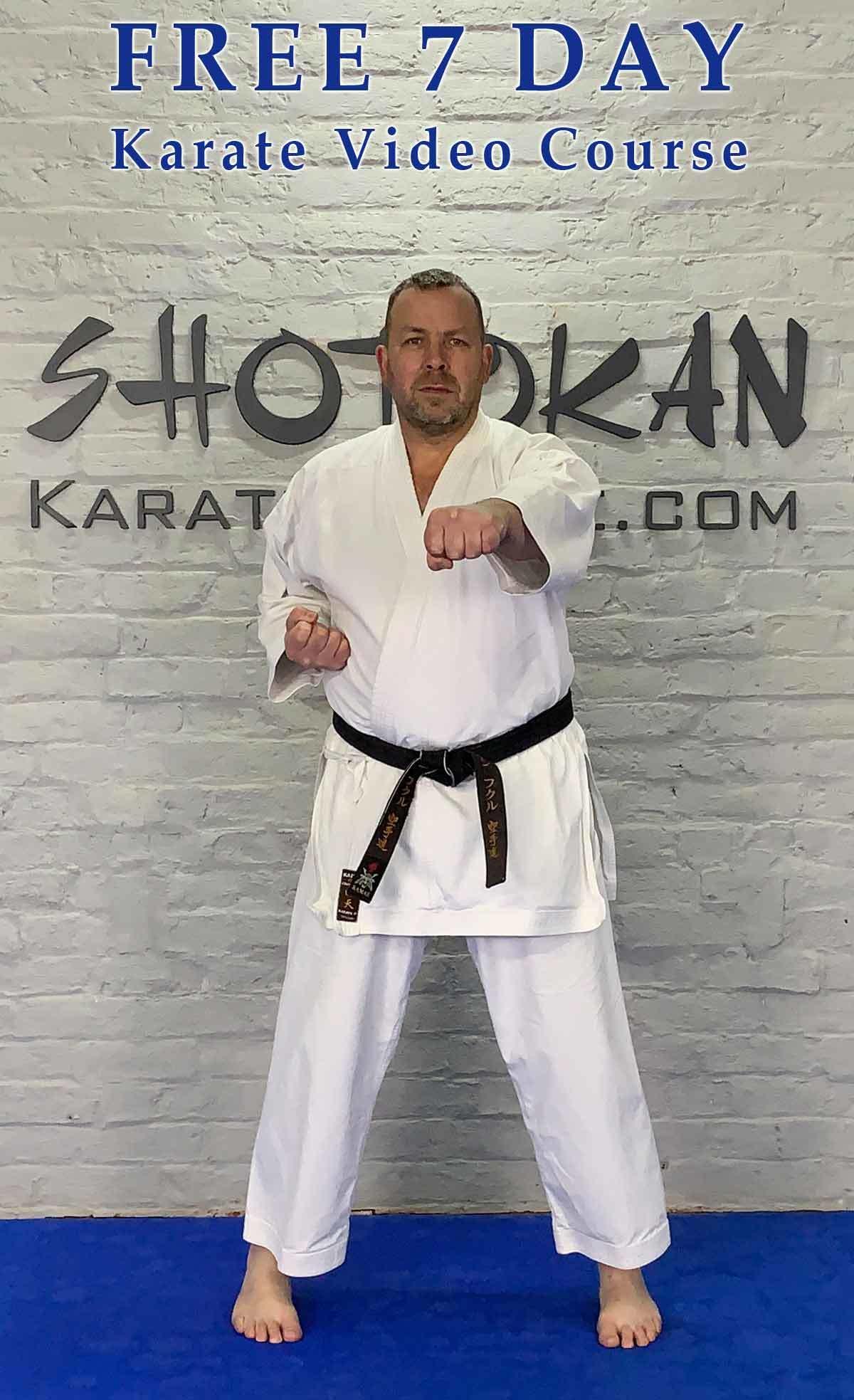 free karate course