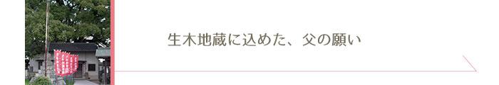 生木地蔵(いききじぞう)