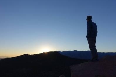 Kyle at Timber Creek Overlook at Sunset