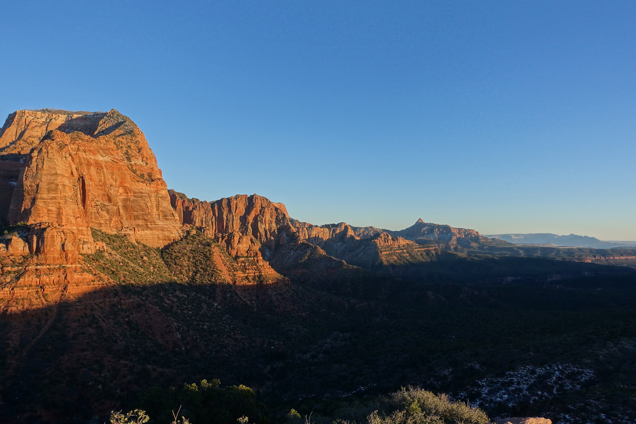 Kolob Canyons from Timber Creek Overlook