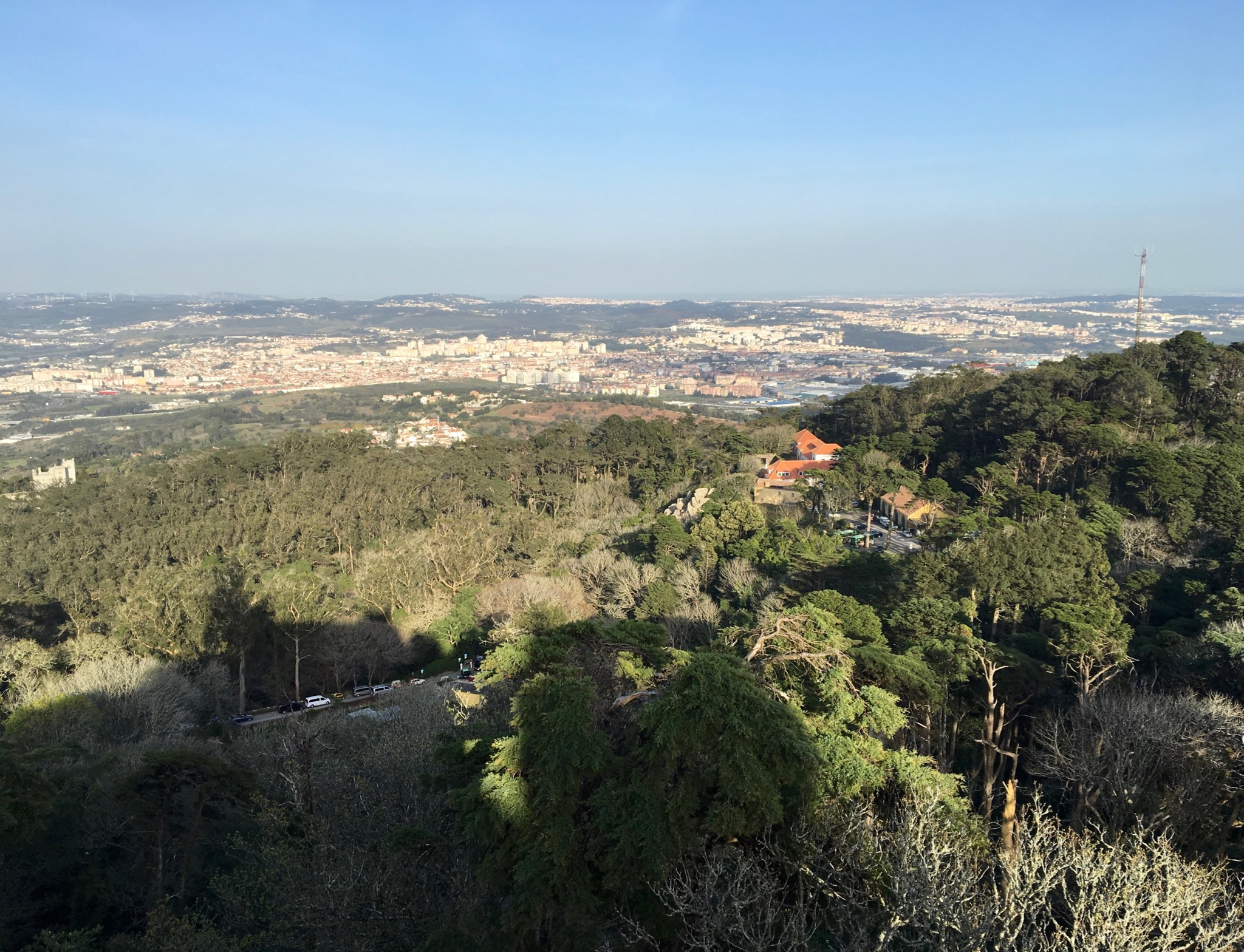 Visiting the Palace of Pena in Sintra