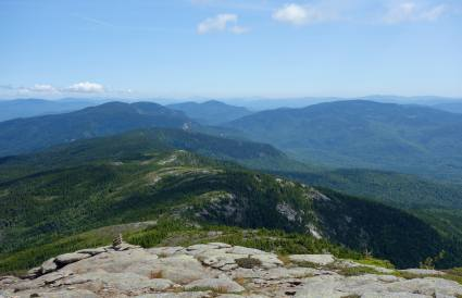 Baldface Circle Trail, looking toward the Royces, Evans Notch, White Mountain National Forest