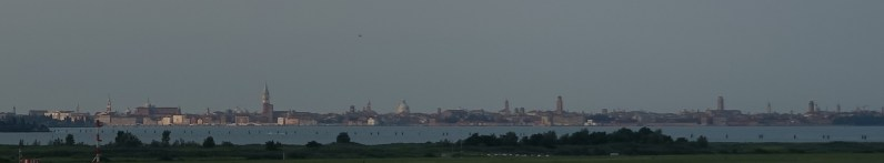 Venice from the airport