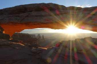 Mesa Arch sunrise, Canyonlands National Park