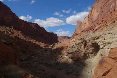Upheaval Dome spur trail, Canyonlands National Park