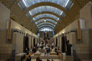 the main hall of the Musée d'Orsay