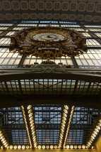 clock in Musée d'Orsay