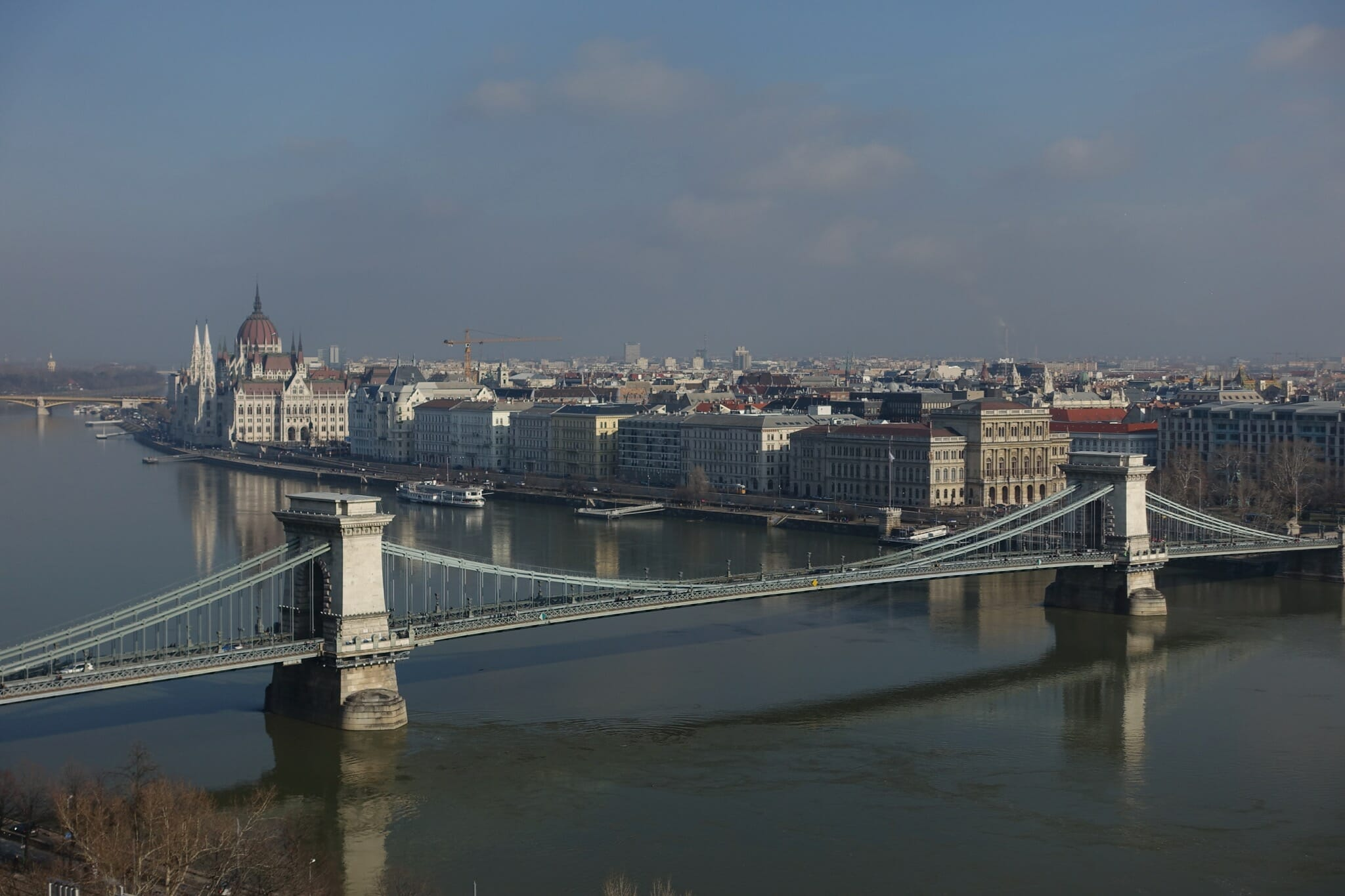 Chain Bridge from the Castle District