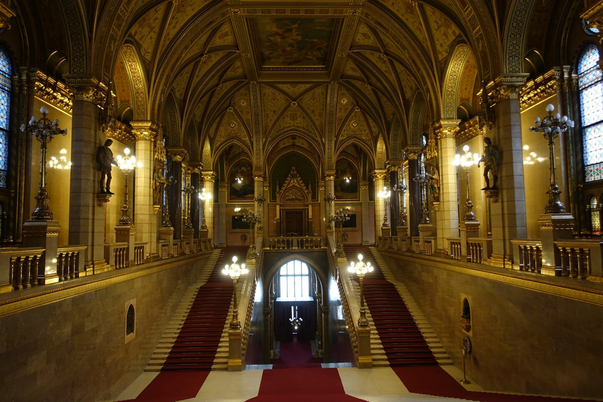 Grand Staircase in the Parliament Building