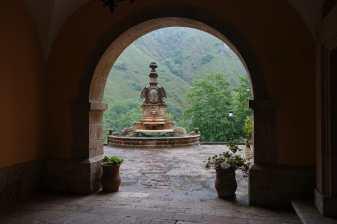 Fountain at La Colegiata