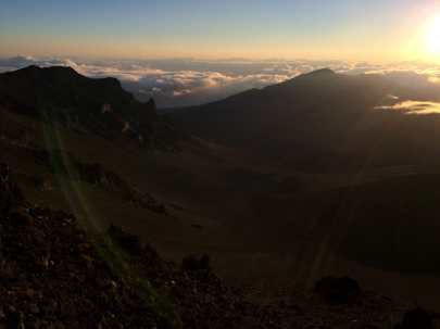 Haleakala Sunrise, Haleakala National Park, Maui