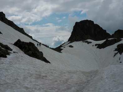 Snowfields near Brevent