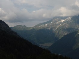 Looking toward Col de Balme from La Flégère