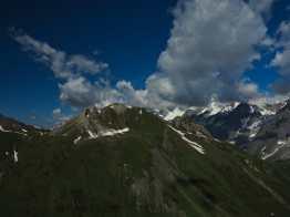 Mont de La Saxe from the col