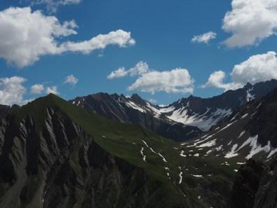 views on the way up Tête de la Tronche