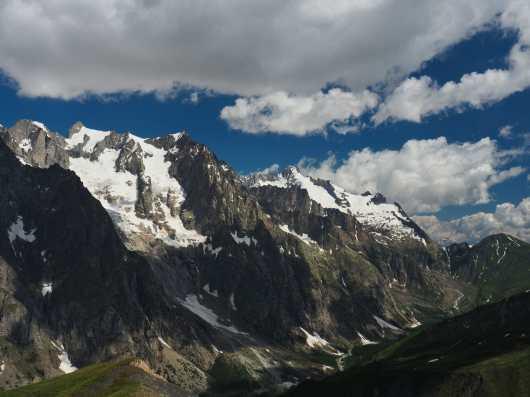 Italian Val Ferret from Tête de la Tronche