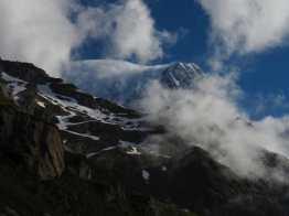 Morning views of Mont Blanc