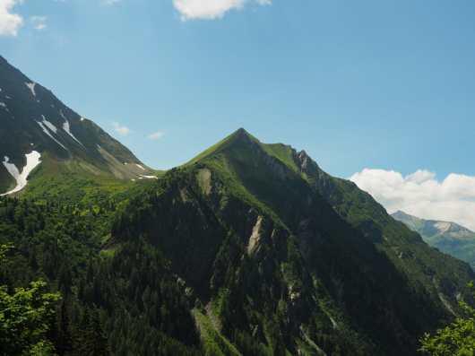 View back toward Col de Tricot