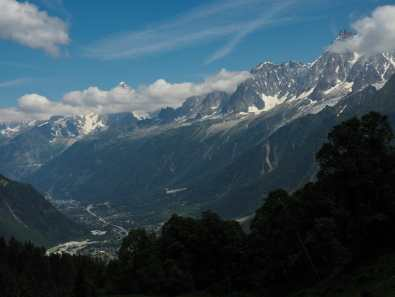 Descending to Les Houches