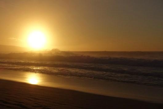 Bonzai Pipeline sunset