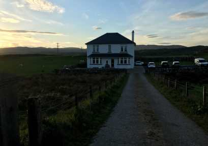 Old Lagavulin Excise House at dusk