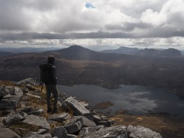 Kyle on Quinag