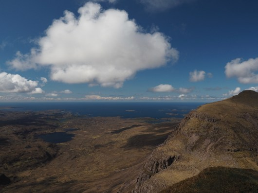 Looking toward the Atlantic from Quinag