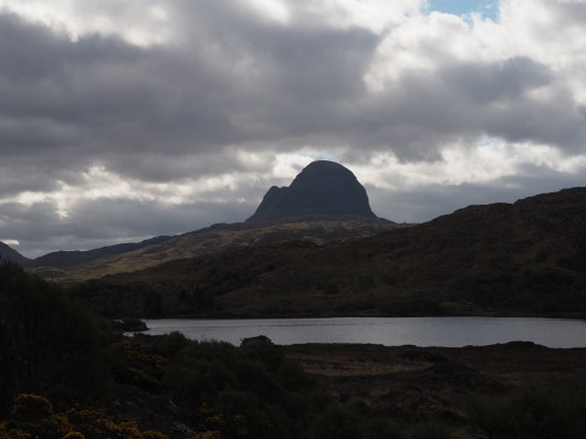 Suilven from the trailhead