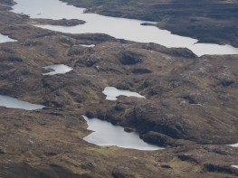 Looking down to the south from Suilven