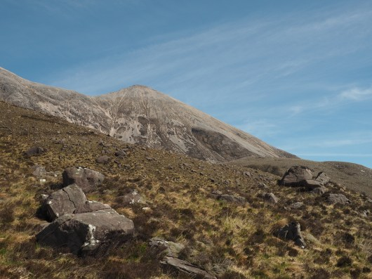 on the way up Beinn Eighe
