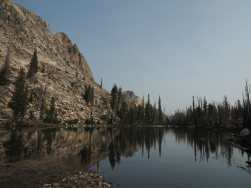 Small lake just before Sawtooth Lake